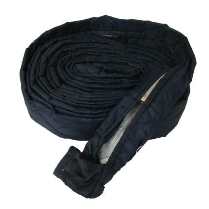 Protezione tubo flessibile in tessuto con chiusura a zip