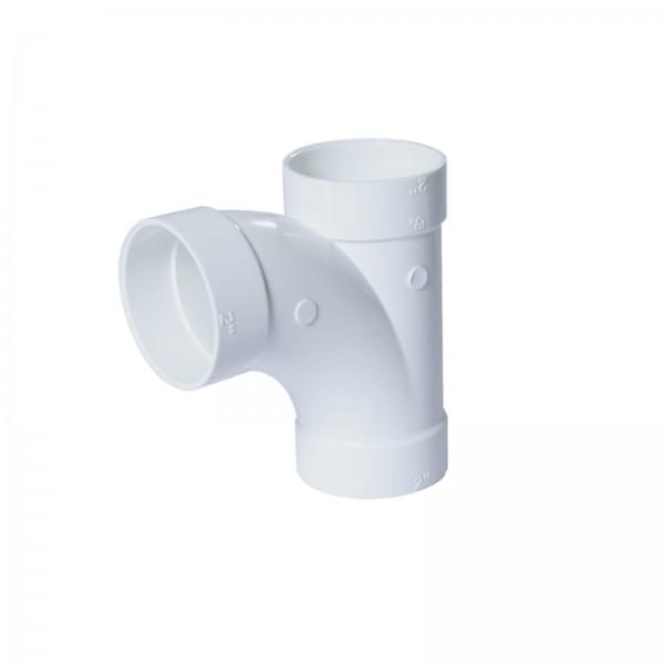 """Abzweiger 90° für 2"""" PVC-Vakuumrohrleitung"""